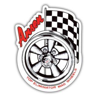 Ansen Top Eliminator Mag Wheels Sticker