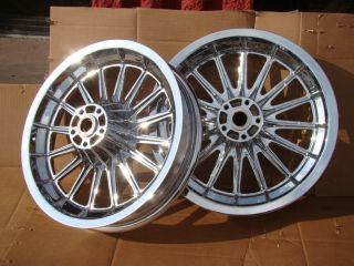 FLH Shovelhead AMF Chrome Front Rear Wheel Rim 16 Spoke 78 83