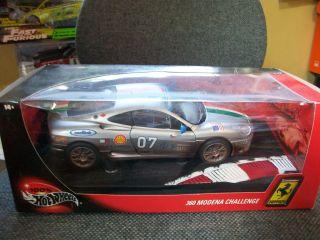 HW 1 18 Ferrari RACED 360 Modena Challenge Hot Wheels Rare Rariat