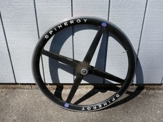 Spinergy Rev x Rear Carbon Fiber Bike Rim w Cassette