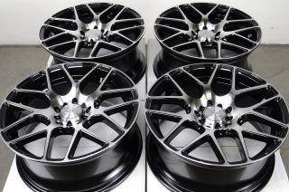 Polished Wheels Prelude Mazda 3 6 Eclipse Cavalier 5 Lug Rims