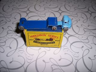 Matchbox Lesney 27A1 Bedford Low Loader Super RARE