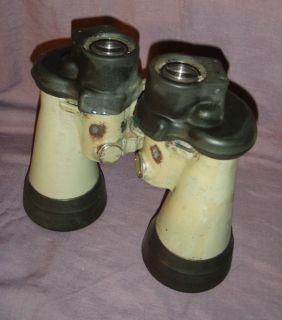 German WWII U Boat Binoculars 7 x 50 Carl Zeiss