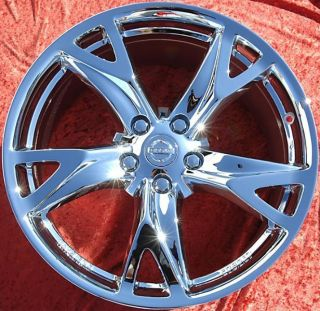 New 19 Nissan 370Z Chrome Wheels Rims 350Z Altima Maxima 62525