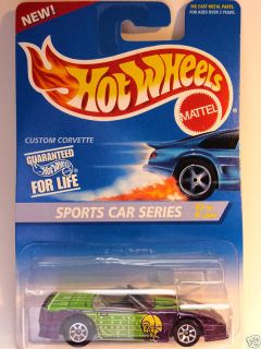 Hot Wheels 405 Sports Car Series Custom Corvette Purpl