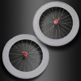 38mm Tubular Carbon Fiber Bike Wheels 700c Full Carbon Fiber Wheelset
