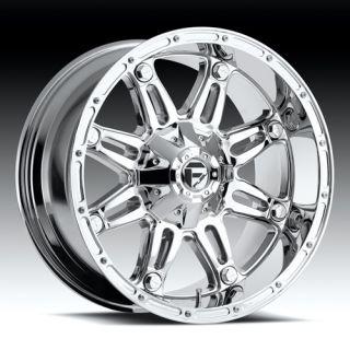 22 Wheels Rims Fuel Hostage Chrome Tundra Sequoia 470