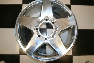 Silverado 2500 GMC Sierra Factory 20 Wheel Rim 5503 Single
