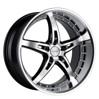 19 MRR GT5 Black Wheels Rims Fit Lexus ES GS RX LS SC300 sc400 SC430
