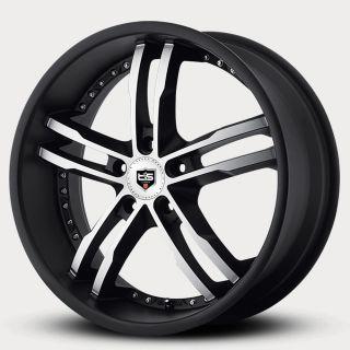 20 Tis Black Wheels Rims Chevy Monte Carlo Free Chrome Lugs Call 877