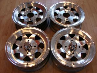 Aluminum 8 spoke Porsche 914 VW Volkswagen Beetle Bug wheels Rims nos