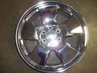 Silverado GMC Sierra 1500 Tahoe Suburban Alloy Wheel Rim 20 Chrome OEM