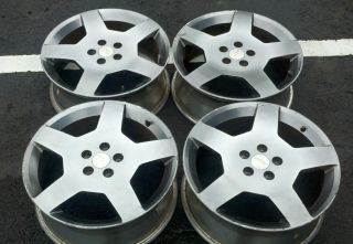 06 Chevy Cobalt Supercharged SS 18 Five Spoke Rims Wheels