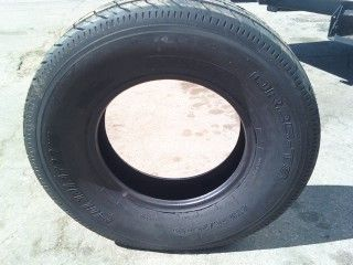 Five 225 75R15 10 Ply Tubeless RV camper Trailer Tires Load Range E