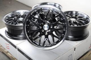 17 Effect Wheels Rims 4x100 Honda Accord Civic Prelude Miata Cooper