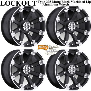15 Type 393 MBML Aluminum Rims Wheels Fits 2002 2013 Arctic Cat