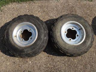 TRX450R TRX 450R TRX450 450 Front Wheels Rims Tires
