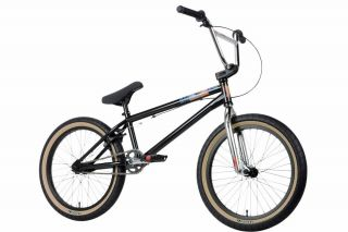 2013 Sunday Alex Magallan EX BMX Bike Black and Chrome New