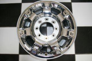 Ford F250 Factory 18 8 Lug Chrome Clad Wheel Rim 3873 Single
