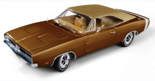 AMM978 118 1969 DODGE CHARGER R/T SE 440 BRONZE METALLIC AUTHENTIC