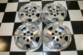 Silverado Avalanche Suburban Tahoe 17 Wheels Rims 5299 2 Set 4