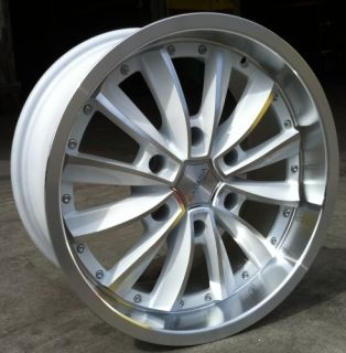 20 inch YL426 White Rims Tires Tahoe Escalade Yukon Sierra Silverado