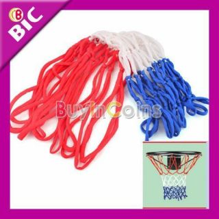 Nylon Thread Sports Red White and Blue Basketball Rim Mesh Net