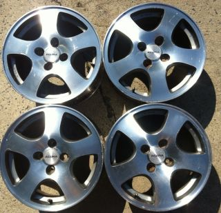 Acura Integra GS R Wheels GSR Fat Fives 4x100 Civic Crx Del Sol DC EK