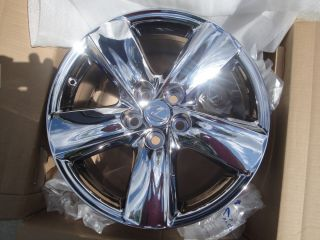LS 460 Lexus 19 Chrome Factory Wheel Rims Genuine Lexus Wheels 74196
