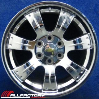 Chevy Avalanche Tahoe 20 2009 2010 Chrome Wheel Rim New 5414