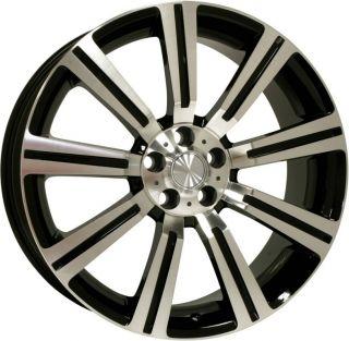 22 Stormer Machined Black Wheels Rims Land Rover LR3 Range Rover