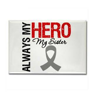 Always My Hero Sister Brain Cancer Shirts & Gifts : Gifts 4 Awareness