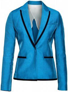 Red Carpet Collection Blue Blazer Tuxedo Jacket Shorts Suit EUR 38