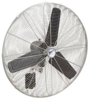 120V 1 5 HP High Velocity Oscillating Maxxair Wall Mount Fan