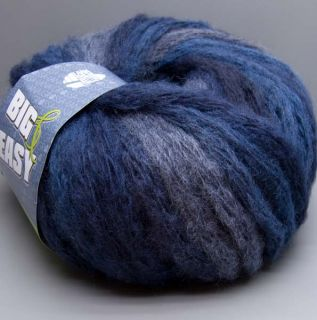 Lana Grossa Big & Easy Colore 007 dark denim 150g Wolle