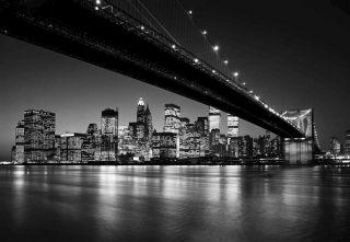 Fototapete LOWER BROOKLYN BRIDGE 366x254 New York City