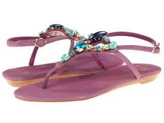 Truth or Dare By Madonna Sobe Womens Sandals (Purple)