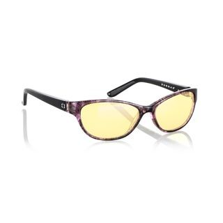 Gunnar Optiks Joule Amethyst Computer Glasses (AmethystStyle ModernModel JOU 05501Material High tensile steelFrame Aluminum magnesiumLens Amber, anti glare lensDimensions Lens 56 mm, bridge 18 mm, arms 120 mmAll measurements are approximate and may