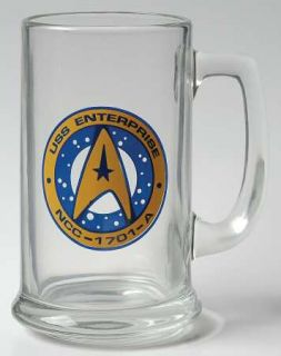 Pfaltzgraff Star Trek (Stoneware) Glassware Tankard, Fine China Dinnerware   170