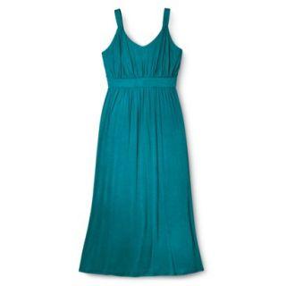 Merona Womens Plus Size Sleeveless V Neck Maxi Dress   Monteray Bay 1