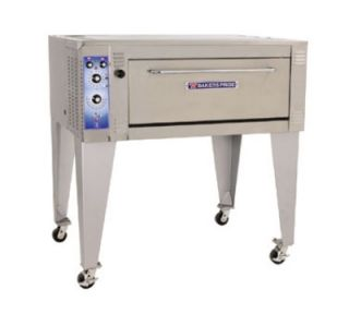 Bakers Pride 38 in Pizza Deck Oven, Double Deck, Infinite Controls, 208/1 V