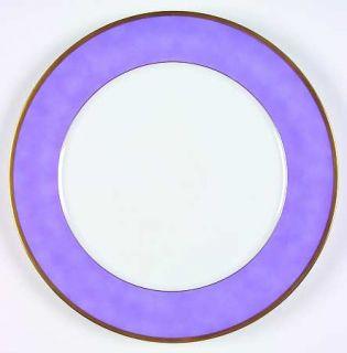 Chas Field Haviland Arc En Ciel Lavender Service Plate (Charger), Fine China Din