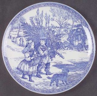 Spode Victorian Annual Christmas  1995 Annual Christmas Plate, Fine China Dinner