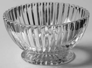 Anchor Hocking Queen Mary Clear Small Fruit/Dessert Bowl   Clear, Depression Gla