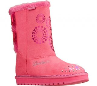 Infant/Toddler Girls Skechers Twinkle Toes Keepsakes Baby Bow   Pink Boots