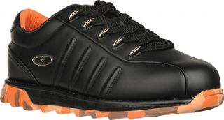 Mens Lugz Changeover Camo   Black/Orange/Orange Camo Lace Up Shoes