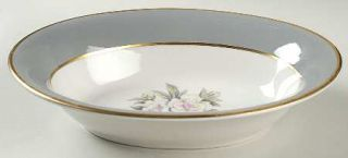 Royal Jackson Countess Heirloom Gray (Gold) 10 Oval Vegetable Bowl, Fine China