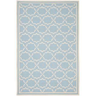 Safavieh Dhurries Light Blue/Ivory Rug DHU545B Rug Size: 5 x 8