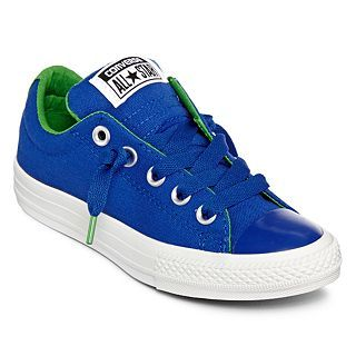 Converse All Star Chuck Taylor Toddler Boys Street Sneakers, Blue, Blue, Boys