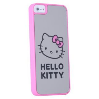 Hello Kitty Mirror Cell Phone Case for iPhone 5   Pink/Gray (HK54109 TA)